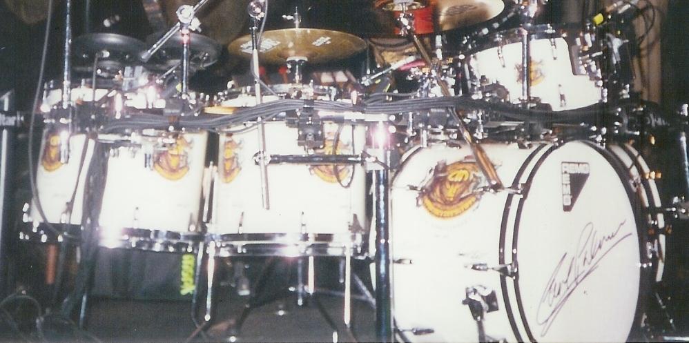Carl Palmer S Last Elp Drum Set Carl Palmer Official Global Web Site