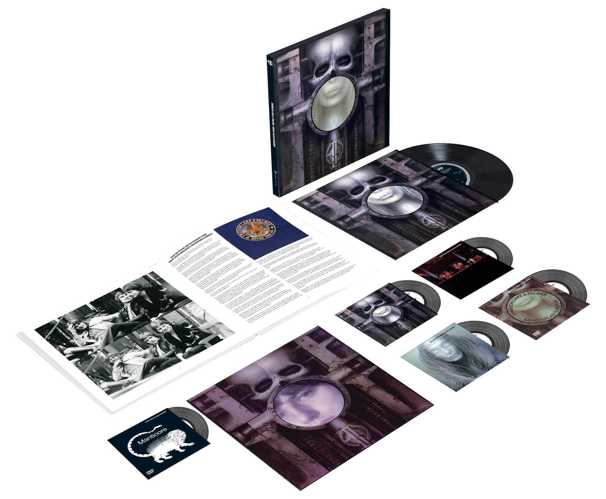 Brain Salad Surgery Box Set!