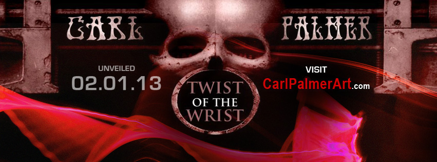 Carl Palmer Twist of the Wrist Graphic